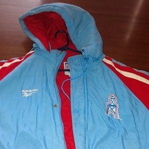 Vintage NFL Houston Oilers jacket